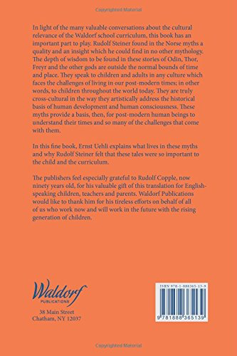 Waldorf Publications Norse Mythology: And the Modern Human Being