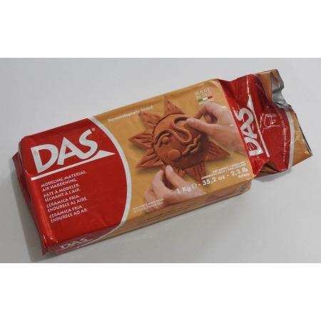 DAS DAS Air Dry Clay 1kg terracotta