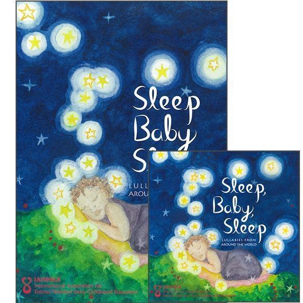 IASWECE Sleep Baby Sleep: Lullabies from Around the World - Book and CD Set