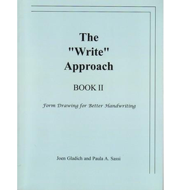 """Rudolf Steiner College Press The """"Write"""" Approach Book II: Form Drawing for Better Handwriting"""