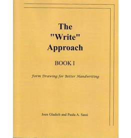 """Rudolf Steiner College Press The """"Write"""" Approach Book I: From Drawing for Better Handwriting"""