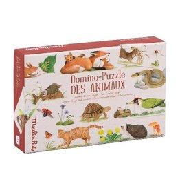 Londji Le Jardinier - Animals Domino Puzzle