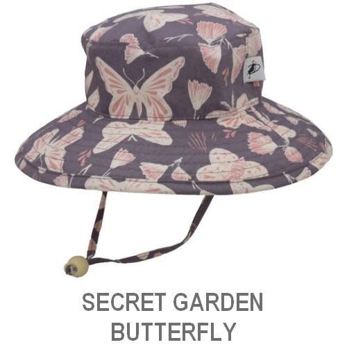 Puffin Gear Child Sun Protection Sunbaby Hat-Organic Cotton Prints