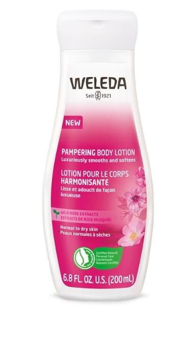 Weleda Pampering Body Lotion - Wild Rose