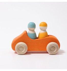 Grimm's Convertible Car Orange, large