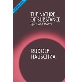 Rudolf Steiner Press The Nature Of Substance: Spirit And Matter
