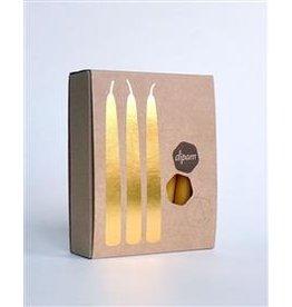 Dipam Dipam Beeswax Candle Lights of Joy 20 pcs - natural
