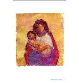 WECAN Press Poster - Mother and Child Art Print