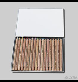Lyra Lyra coloured giants unlacquered - 18 assorted tin