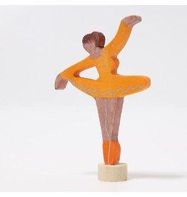 Grimm's Deco Ballerina Orange Blossom