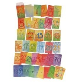 Grimm's Learning - Cards, Additional Numbers 48pcs