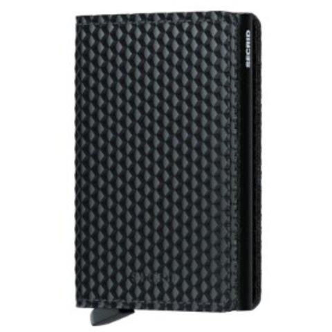 Secrid RFID Blocking Cubic Slim Wallet - Black