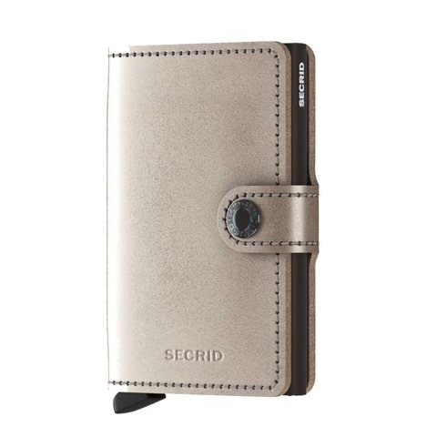 Secrid RFID Blocking Mini Wallet Metallic