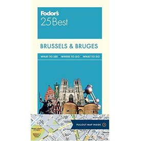FODOR Fodor Brussels & Bruges 25 Best (Full-color Travel Guide) 5TH Edition