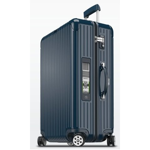 """Rimowa Salsa Deluxe 30"""" Electronic Tag Multiwheel Suitcase"""