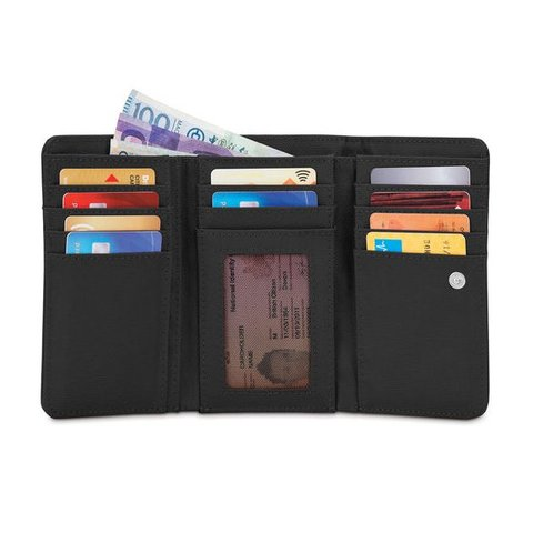 Pacsafe RFIDsafe LX100 RFID Blocking Wallet