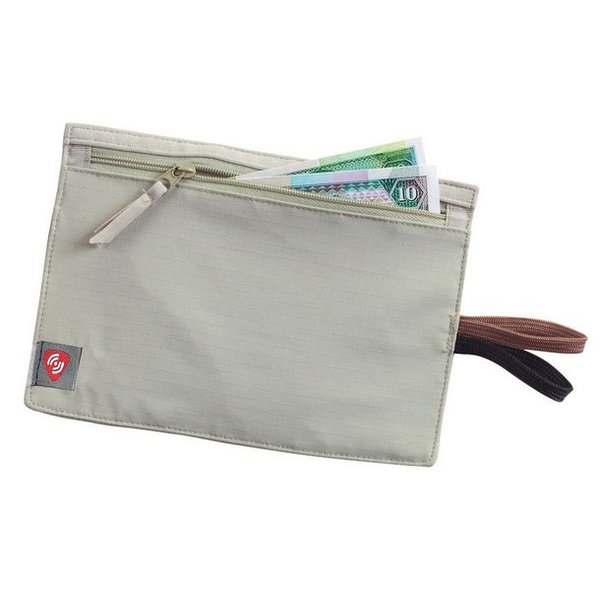 LEWIS & CLARK Lewis N Clark RFID Hidden Travel Wallet