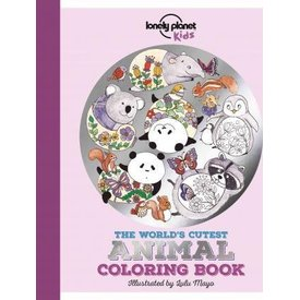 Lonely Planet Lonely Planet The World's Cutest Animal Coloring Book