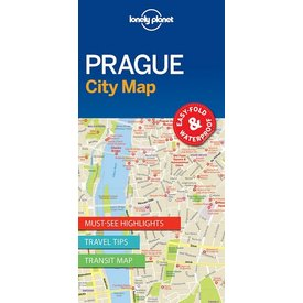 Lonely Planet Lonely Planet Prague City Map 1st Ed.