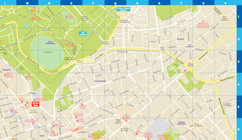 Lonely Planet Lonely Planet Rome City Map | Wanderlust Store