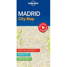 Lonely Planet Lonely Planet Madrid City Map