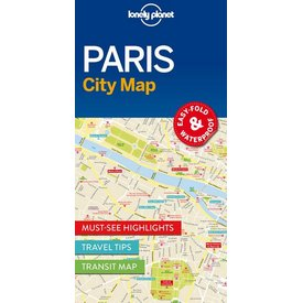 Lonely Planet Lonely Planet Paris City Map