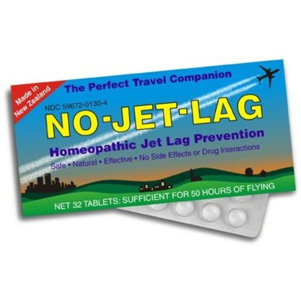 No-Jet-Lag Homeopathic Remedy