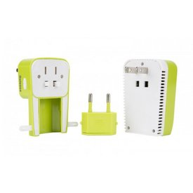 TRAVELON Travelon Universal 3 IN 1 Adapter/Converter/USB