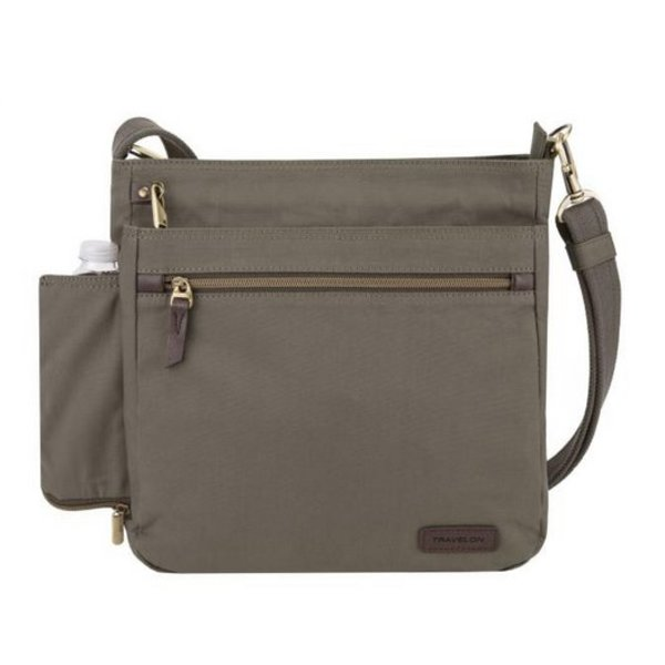 TRAVELON Travelon Anti-Theft Courier N/S Crossbody