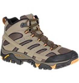 Merrell Men's Moab 2 Mid GTX Waterproof Boot  - Wide