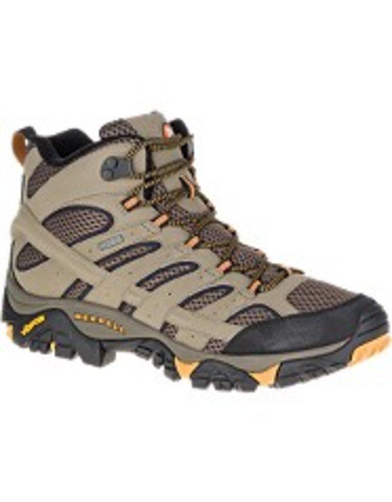 Merrell Men's Moab 2 Mid GTX Waterproof Boot  - Wide