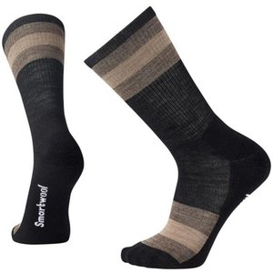 SmartWool Ms Striped Hike Light Crew