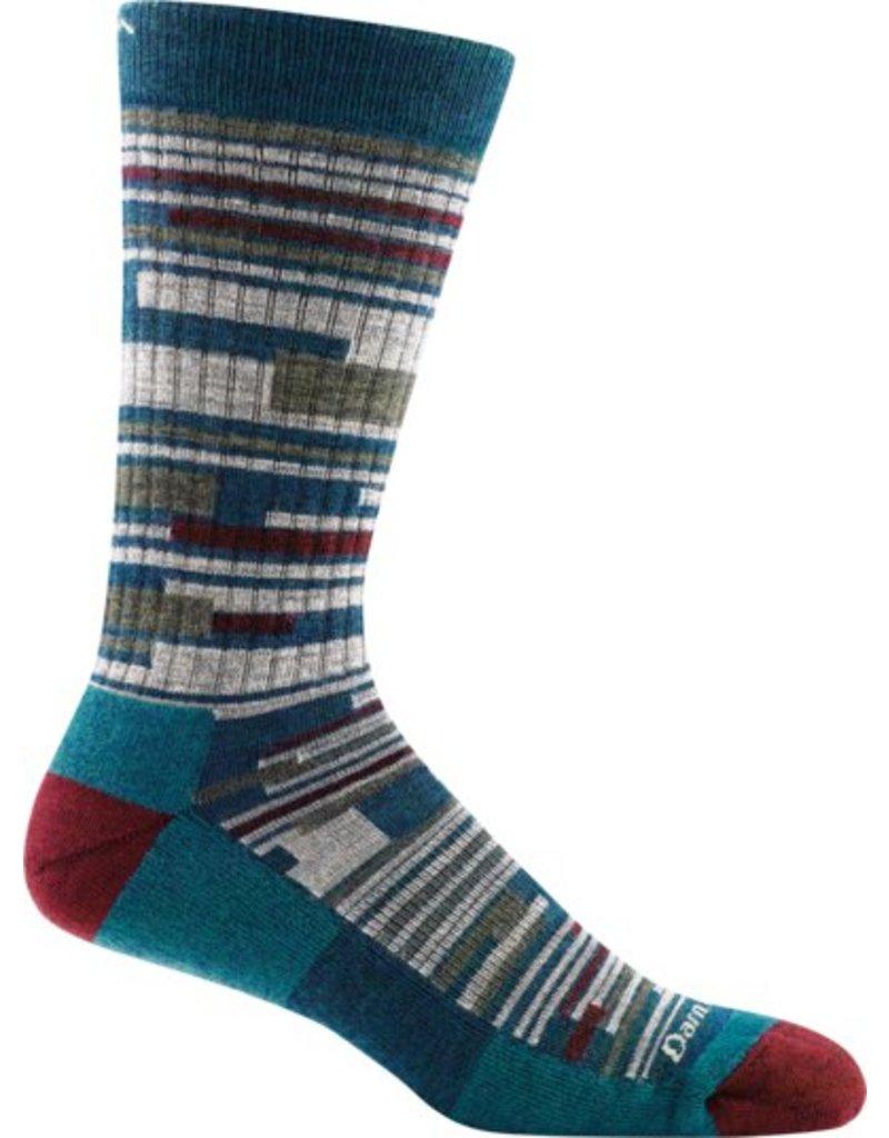 Darn Tough Socks Men's Urban Block Crew Light Cushion Sock - 1697