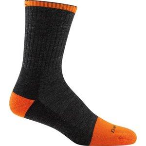 Darn Tough Socks Men's Steely Micro Crew Full Toe Cushion Sock - 2007