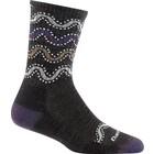 Darn Tough Socks Women's Wandering Stripe Micro Crew Light Cushion Sock 1943