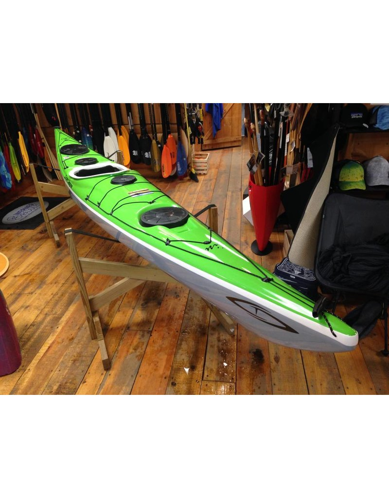 Current Designs Kayak Sisu Kevlar Touring Kayak Lime/Smoke/Gray -2019