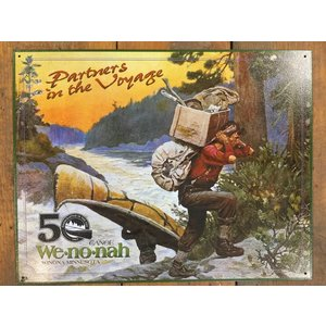 Wenonah Canoe Tin Sign