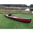 Northstar Canoes ADK Solo 12 Red Whitegold Alum Trim - 2018