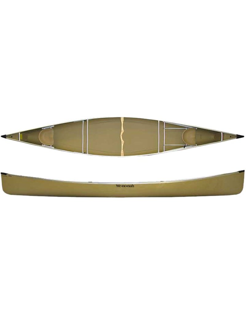 Wenonah Canoe Champlain 18 Kevlar Ultralight Black Trim Sliding Bow - 2019