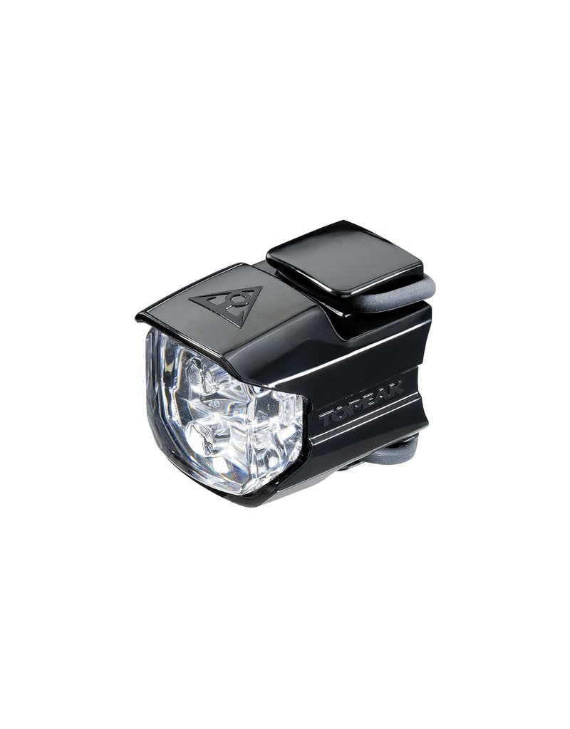 Topeak WhiteLite Race 2-LED Headlight Black/Clear