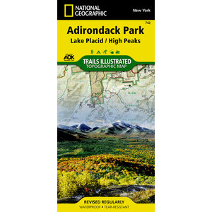 National Geographic Adk Park T.I. Topographical Maps