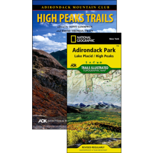 North Country Books Inc. ADK Mountain Club Guide High Peaks Trails Map Pack 14th Edition