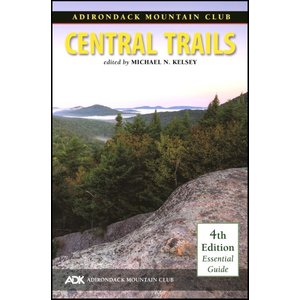 North Country Books Inc. ADK Mountain Club Guide Central Trails 4th Edition