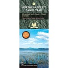 North Country Books Inc. Northern Forest Canoe Trail Map