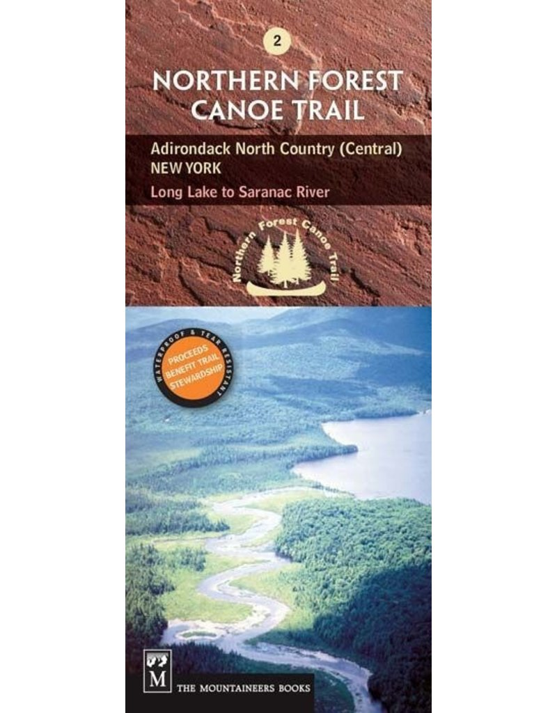 Blue Line Book Exchange Northern Forest Canoe Trail Map