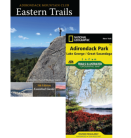 North Country Books Inc. ADK Mtn Club Guide Eastern Trails Map Pack 5th Edition