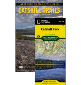 North Country Books Inc. ADK Mtn Club Guide Catskill Trails Map Pack 4th Edition