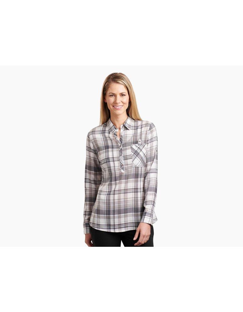 Kuhl Women's Spektra Plaid Long Sleeve Shirt Closeout