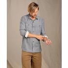Toad & CO Men's Taj Hemp Long Sleeve Shirt Slim