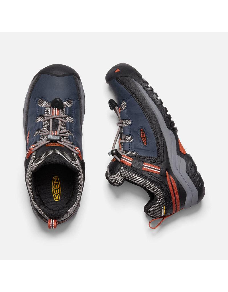 KEEN Big Kid's Targhee Low Waterproof Shoe
